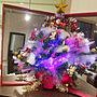 女性、キリントンMy Shelfやクリスマスやクリスマスツリーや鏡などに関するiquoさんの実例写真