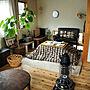 女性37歳の家族暮らし3DK、こたつ部屋全体や無印良品やストーブやちゃぶ台などに関するslow-lifeさんの実例写真