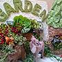 女性家族暮らし4LDK、ダーラナホース親子My Deskやモルタル造形やモルタル鉢や多肉寄せ植えなどに関するRudyさんの実例写真