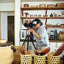 女性38歳の家族暮らし3DK、狭くても使いやすい台所Kitchenやカムホーム別冊やインスタ→slow.life.worksや丁寧な暮らしなどに関するslow-lifeさんの実例写真