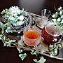女性、シルバートレーMy Deskやシルバーが好きや紅茶やガラスティセットなどに関するmayumiさんの実例写真