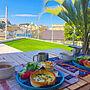 男性28歳の家族暮らし3LDK、カリフォルニアインテリアに憧れる庭やカリフォルニアスタイルや一戸建てやピクニックなどに関するMRHouseさんの実例写真