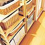 My Shelf/無印良品/ナチュラル/収納/ニトリ/タオル収納/賃貸/しんぷるに関連する部屋のインテリア実例