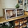 My Shelf/ダイソー/収納/セリア/100均アイテム/フェイクグリーン/ペンキ/コメリ/100均 リメイク/小物インテリア/ディツーに関連する部屋のインテリア実例