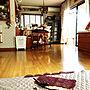 Overview/ハンドメイド/カバー/敷物/イメージチェンジ/カバー手作り/いつもいいねやコメントありがとう♡/季節を感じる暮らし/秋仕様模様替え中/和室の敷物/敷物縫いますに関連する部屋のインテリア実例