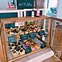 Kitchen/カフェ風に関連する部屋のインテリア実例