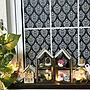My Shelf/ダイソー/ナチュラル/クリスマスディスプレイ/RCの出会いに感謝♡/いつもいいねやコメありがとうございます♡/megusanの作品/naosunny ちゃんのコロンハウス♡/クリスマス☆雑貨☆/DAISOの目隠しシート☆に関連する部屋のインテリア実例