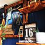 My Shelf/DIY/流木/お気に入り雑貨/原状回復/壁紙屋本舗/いなざうるす屋さん/ディアウォール/NO GREEN NO LIFE/賃貸でも諦めない!/ワトコオイル♡/観葉植物のある暮らし/フォロワーさまに感謝です☺︎/いつもいいね!ありがとうございます☺︎に関連する部屋のインテリア実例