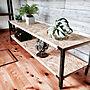 My Shelf/DIY/ローボード/TV台/木の家/男前/DIY女子部/日本家屋/西海岸インテリア/アイアン好き/日替わり投稿企画!水曜日に関連する部屋のインテリア実例