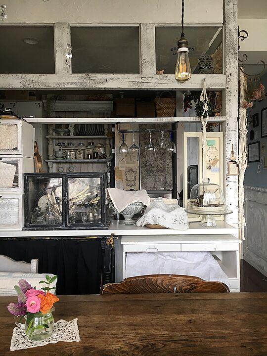 「美しい一貫性。French chicに作り込まれたカフェキッチン」 by Rinrinfrenchさん
