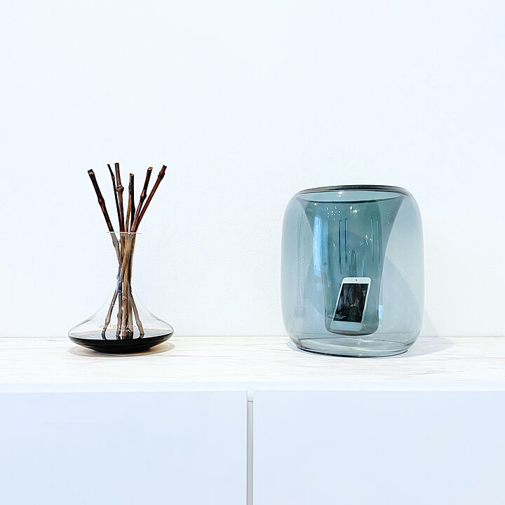 「オブジェのようにインテリアに馴染む、ガラスのアナログスピーカー」 by SAKIKUMAHOUSEさん