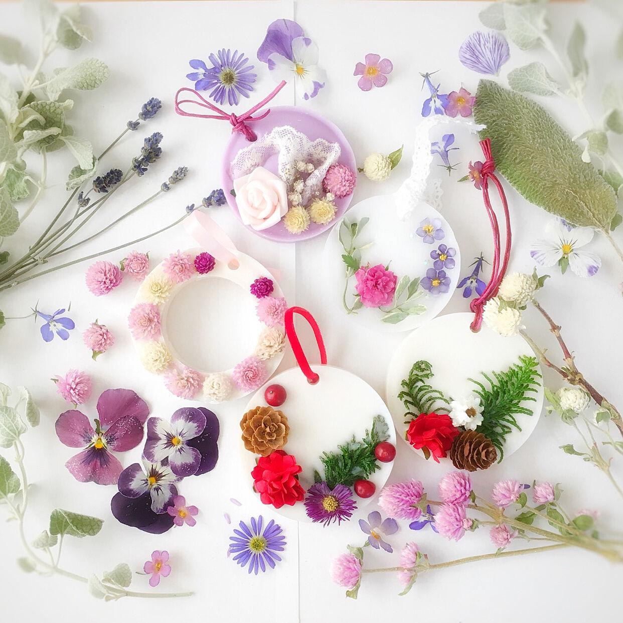 飾って香ってお部屋を彩る♡香りを楽しむハンドメイド作品