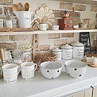 キッチンで映える!デザイン性抜群な100均食器に一目惚れ