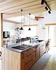 「カフェのように心地よく空間に溶け込む、北欧×モダンなアイランドキッチン」 by fuwari__17さん