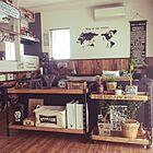 見た目ヨシ!扱いやすさヨシ!のカラーアングルで作る男前収納 by eritoさん