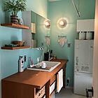 毎日使う場所だからこそ自分好みのスタイルに。こだわりの洗面台&お風呂