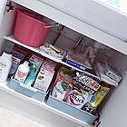 洗面台下収納をすっきり整頓♡セリアの収納ボックス&アイテム