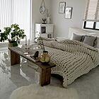 心地よい睡眠をとるために!色と光を考えるベッドルーム