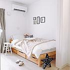 心地よいくつろぎ空間に☆無印&ニトリで作るベッドルーム