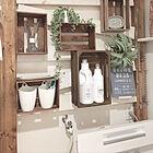 DIYで理想どおりに♪もっと使いやすくなる洗濯洗剤スペース