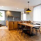 「楽しみを後回しせず同時に家事ができる、つながりを大切にしたキッチン」 by maelog_homeさん