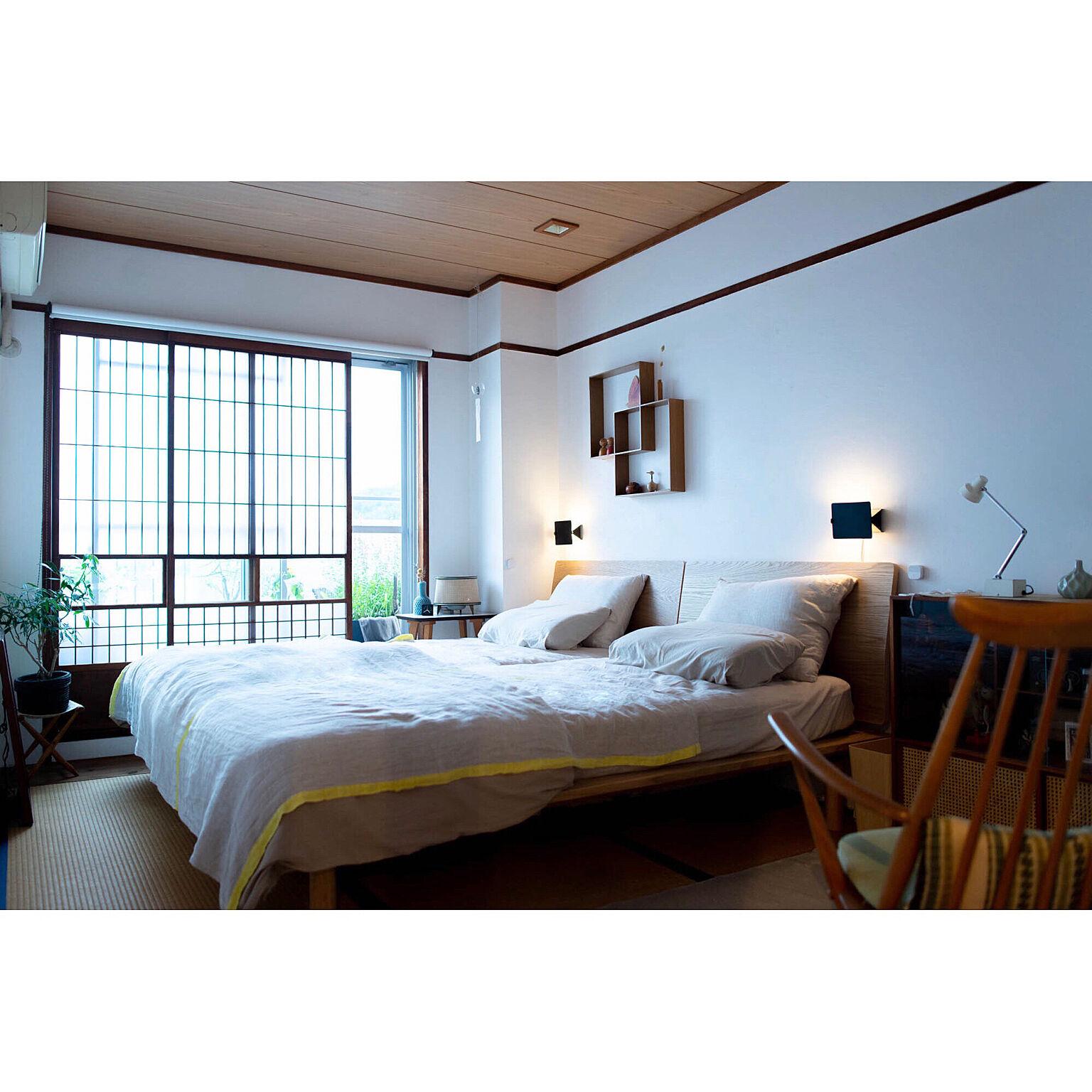 開放感と心地良さを感じる寝室に♡ベッドのおすすめレイアウト