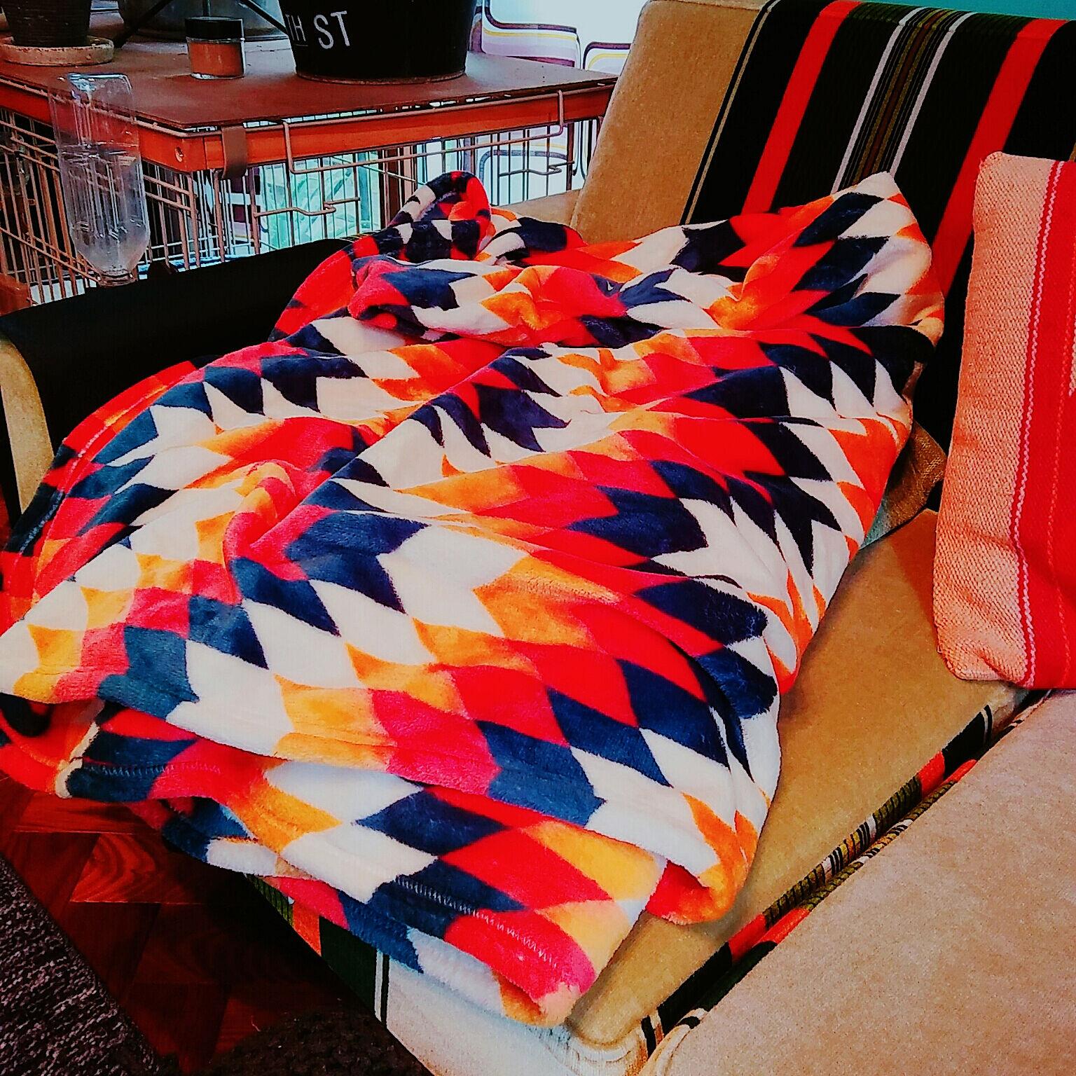 肌ざわりもデザインも最高♪しまむらの毛布とブランケット