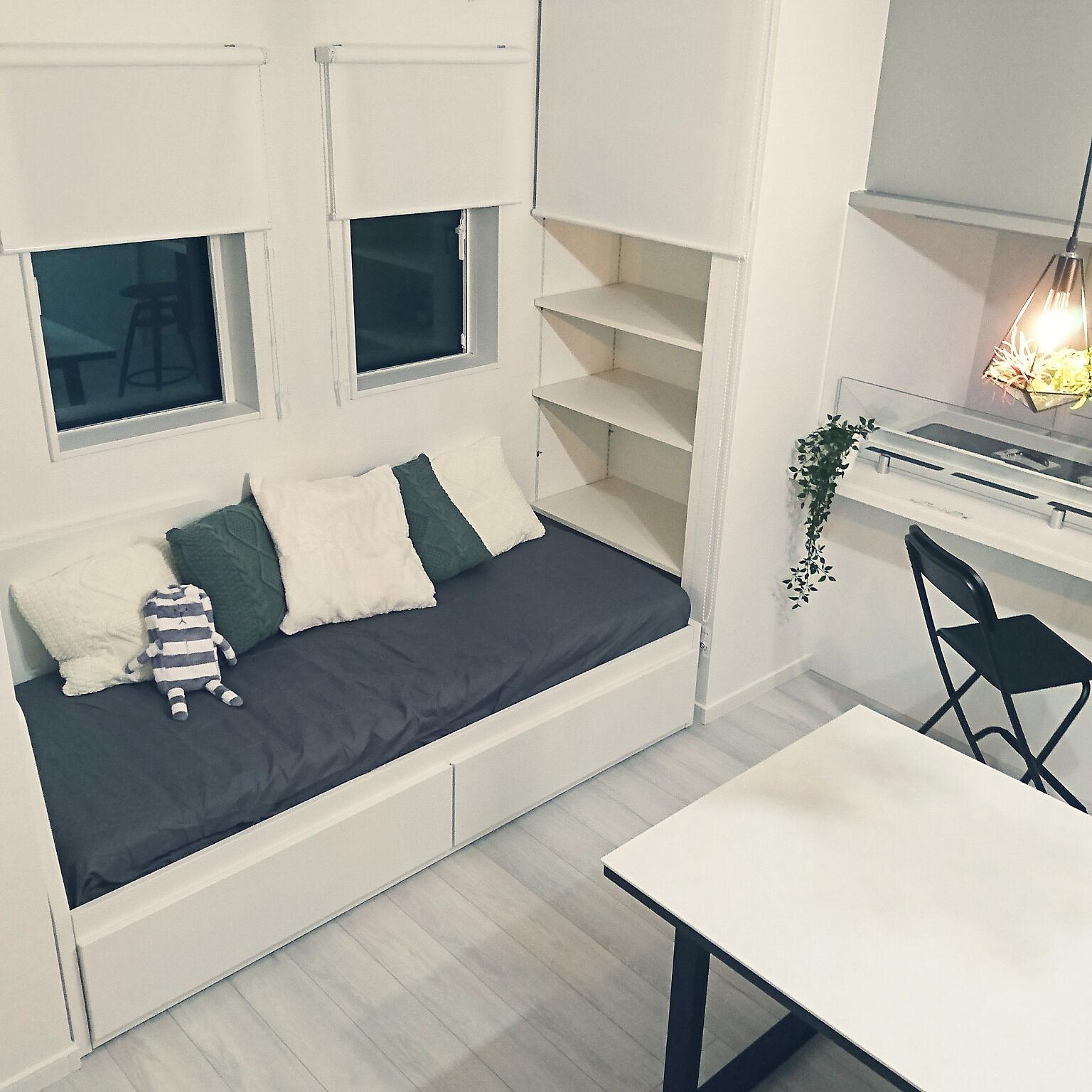 スペースを活用するならコレ☆IKEAの2way使いができる家具