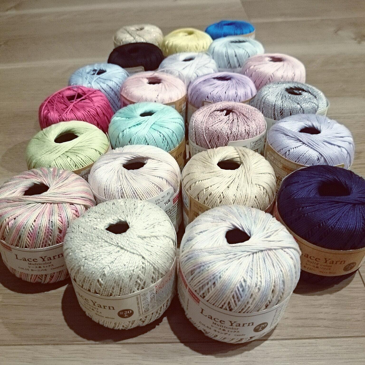 編み物好きさん必見!選ぶのも楽しいダイソーのレース糸