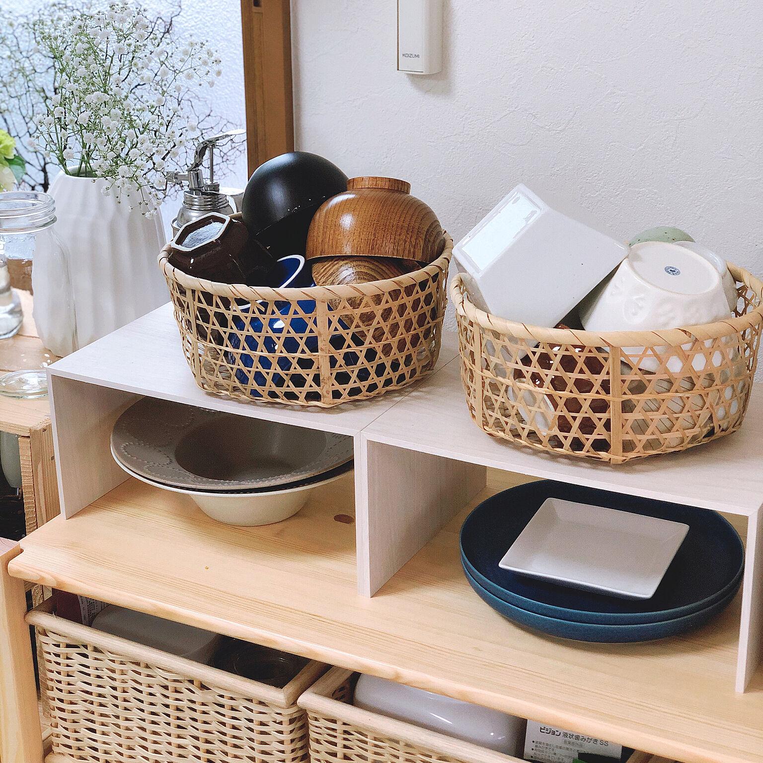 食器棚を使わなくてもこんなに便利!見やすく取り出しやすい食器の収納方法
