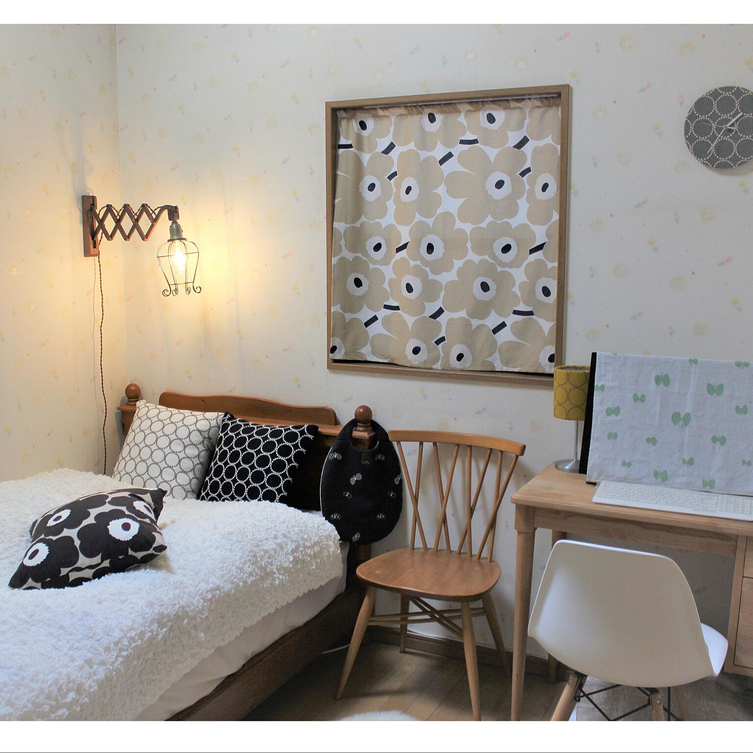 洗練された北欧テイストを 生地を使った手作りのアイテム Roomclip Mag 暮らしとインテリアのwebマガジン