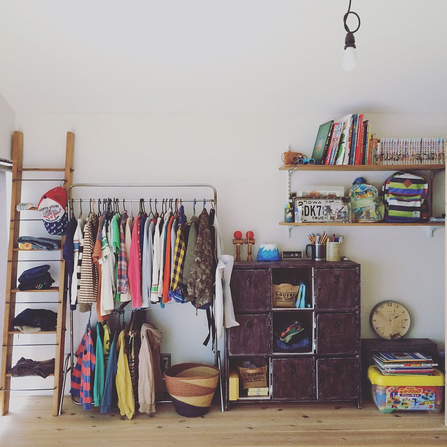 ママも助かる!子どもにとっても使いやすい衣類収納アイデア