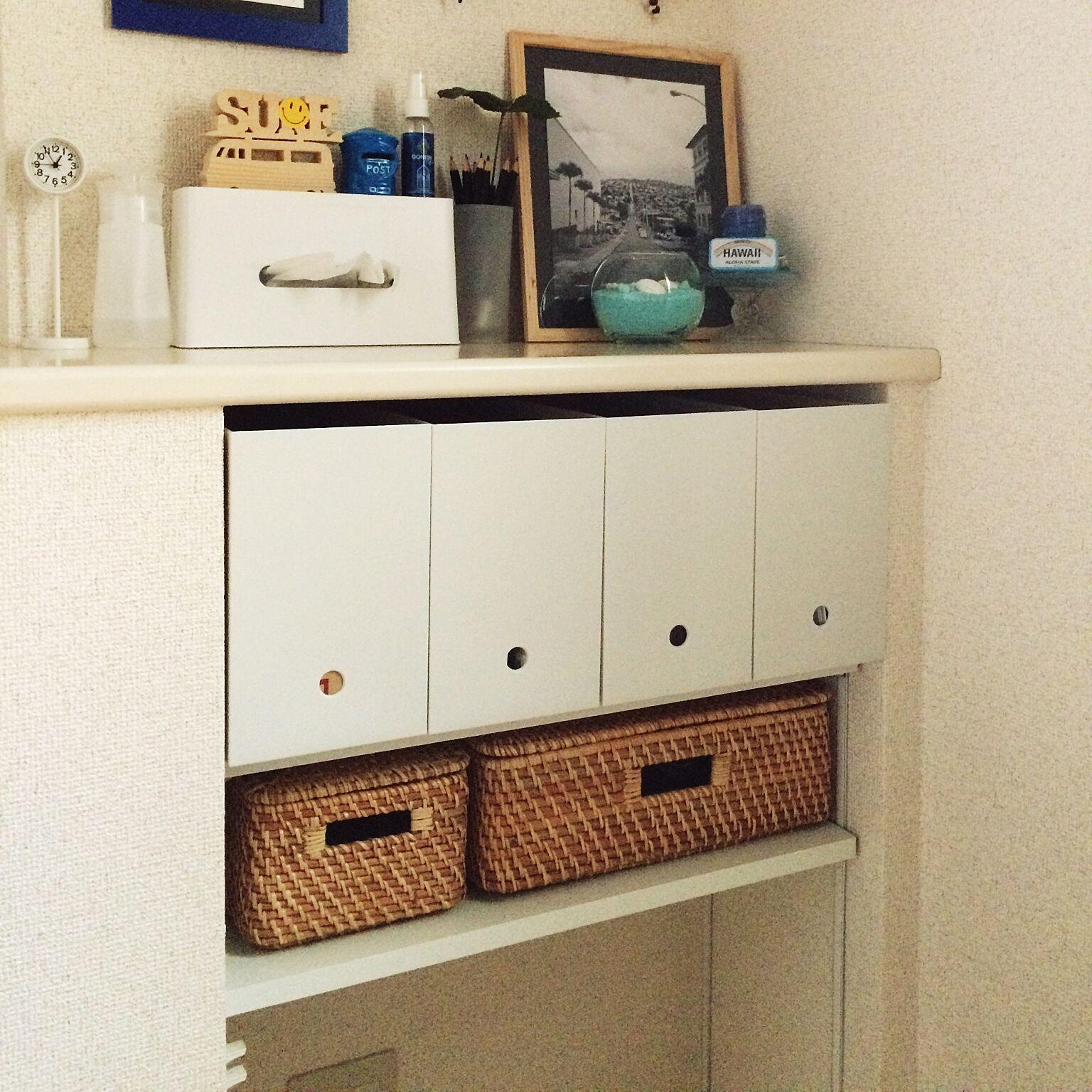 「シンプルライフを支える、掃除も管理もしやすい収納」 by chir00mさん