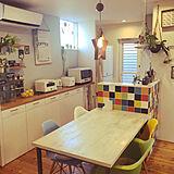 「私らしさが活き活きと輝く、カラフル×ナチュラルなキッチン」 by moka-starさん