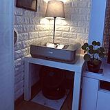 クレバー&シンプル家具♡IKEAのLACKシリーズはどこに置いてもOK