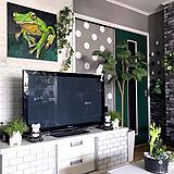新しい家具のように新鮮な気分♡塗って貼ってドアDIY10選
