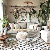 IKEAのソファとクッションで自分だけのリラックス空間♪