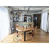 穏やかな和みの空間に☆丸テーブルで作る優しいダイニング