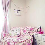 春色ファブリックでお部屋も気持ちも明るく華やかに♪