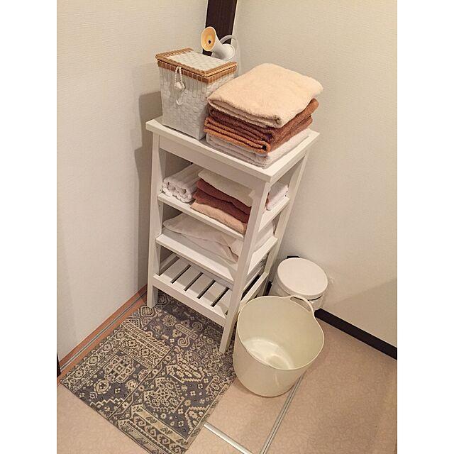 Bathroom,整理整頓,洗面所,タオル,フランフラン,シンプル,IKEA,収納,これ以上物は増やさない予定,断捨離,スッキリ konoの部屋