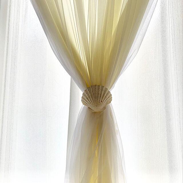 好きな生地で自由に♡光と風が気持ちいい手作りカーテン