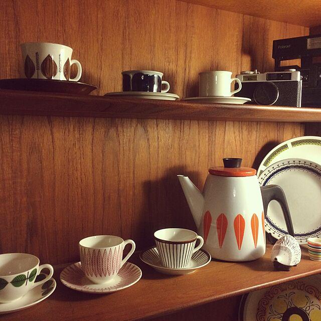 My Shelf,アラビア,ゲフレ,コーヒーカップ,北欧,北欧ヴィンテージ,北欧ヴィンテージ食器,キャサリンホルム,グスタフスベリ morichの部屋