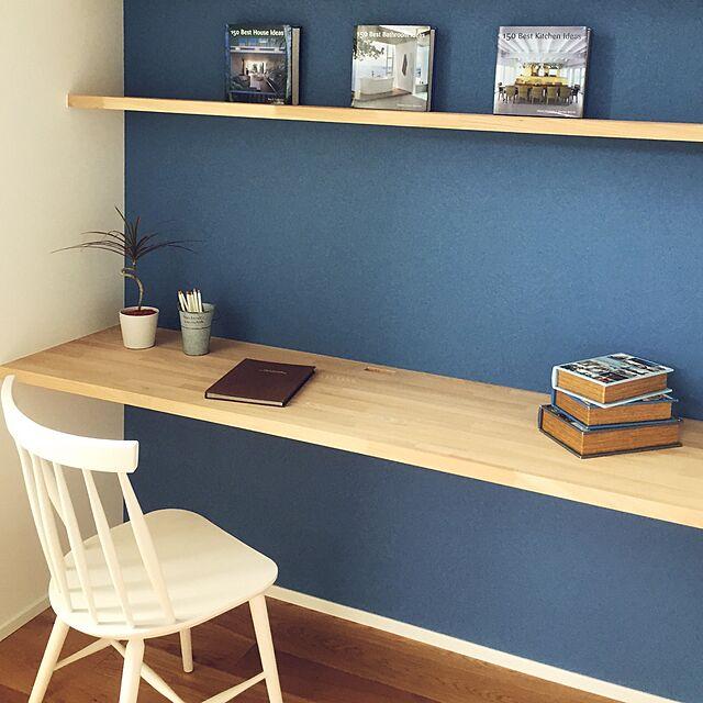 My Desk,ワークスペース,造作,壁紙 KotoRiの部屋