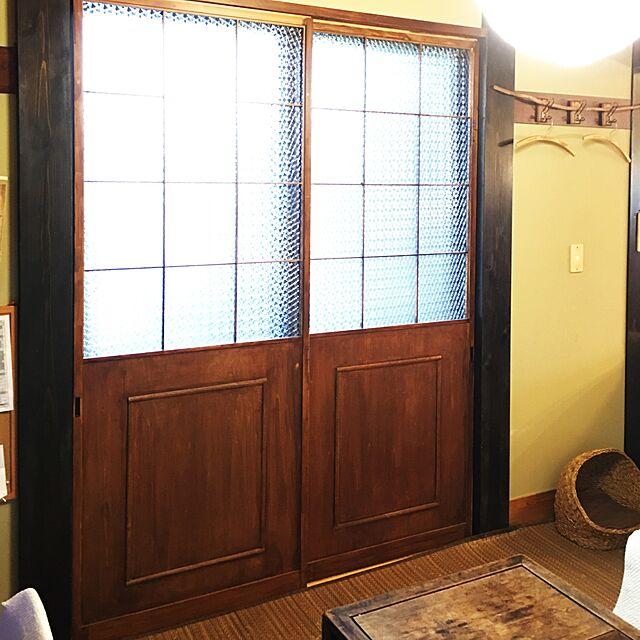 障子リメイク,和室,レトロ yuzuの部屋