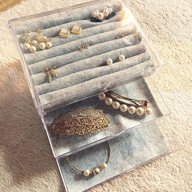 My Shelf,アクセサリーケースDIY,アクセサリーケース,100均,DIY,ダイソー michiの部屋
