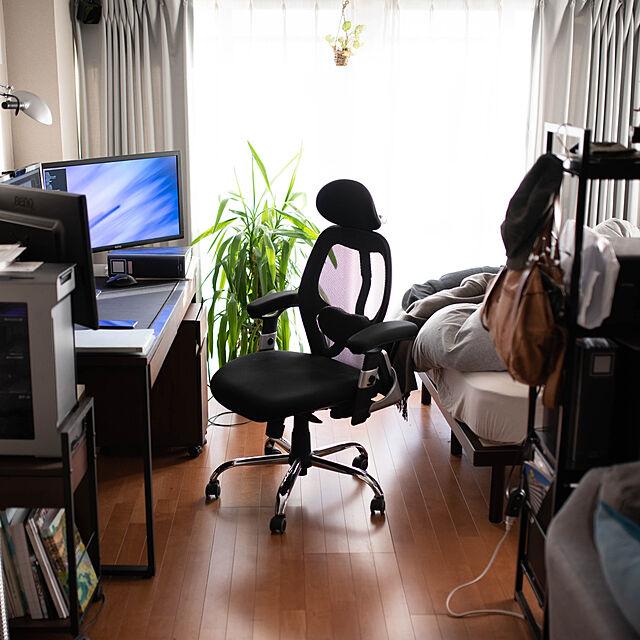 My Desk,一人暮らし,ワンルーム,賃貸,1R,ひとり暮らし,デスク,ワークスペース,デスク周り,オフィスチェア,椅子 sis0の部屋
