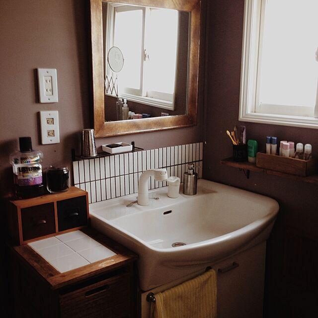 Bathroom,洗面所,洗面台リメイク,洗面台,ニトリ,IKEA,洗面台DIY Aiの部屋