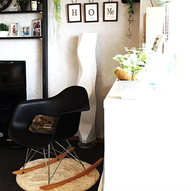 Lounge,ロッキングチェアー,イームズチェア,築27年,賃貸マンション,swaro109さん♡,swaro109vintage yumiの部屋