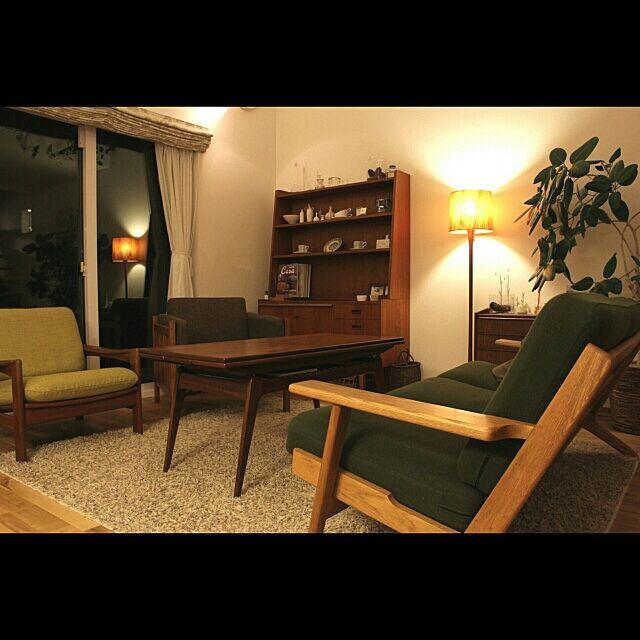 Overview,北欧ヴィンテージ,北欧,北欧インテリア,間接照明 Hisashiの部屋