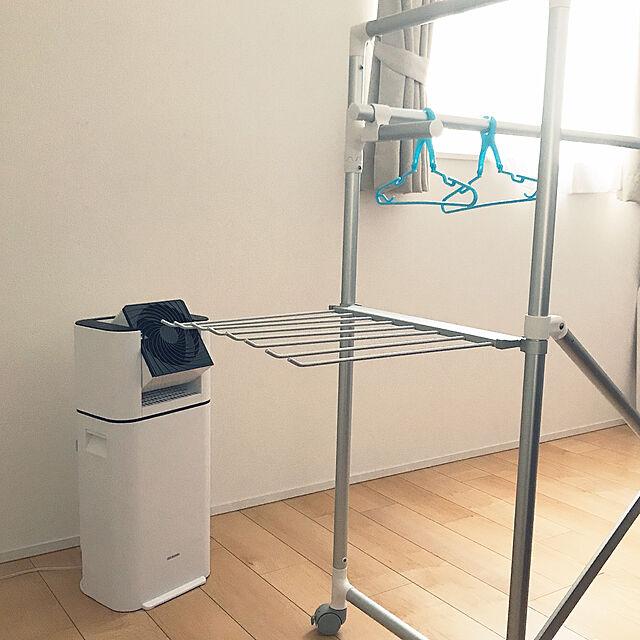 洗濯物干しスペース,アイリスオーヤマ,衣類乾燥除湿機,衣類乾燥機,サーキュレーター衣類乾燥除湿機,サーキュレーター,部屋干し,部屋干しスペース,イベント参加します♡,除湿機,暮らしを楽しむ,こどものいる暮らし,こどもと暮らす N.の部屋